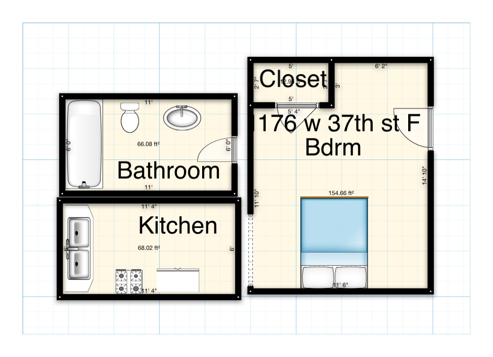 1176 37th st st, California, 1 Bedroom Bedrooms, ,1 BathroomBathrooms,Apartment,For Rent,37th st,1,1019